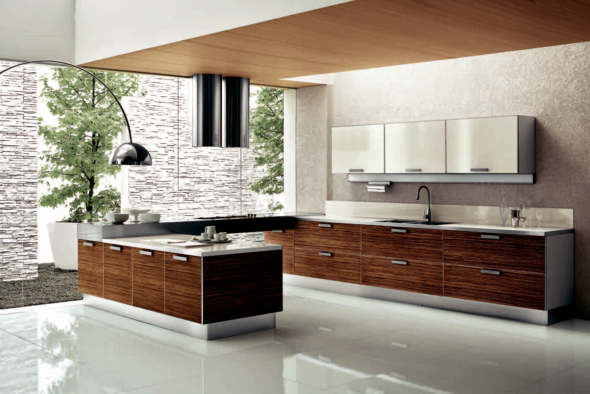 Design Kitchen Set Modern