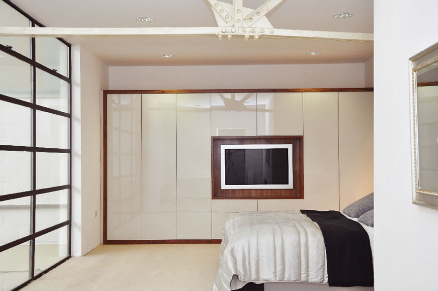 Built in bedroom cupboards cape town beyond kitchens - Beautiful bedroom built in cupboards ...